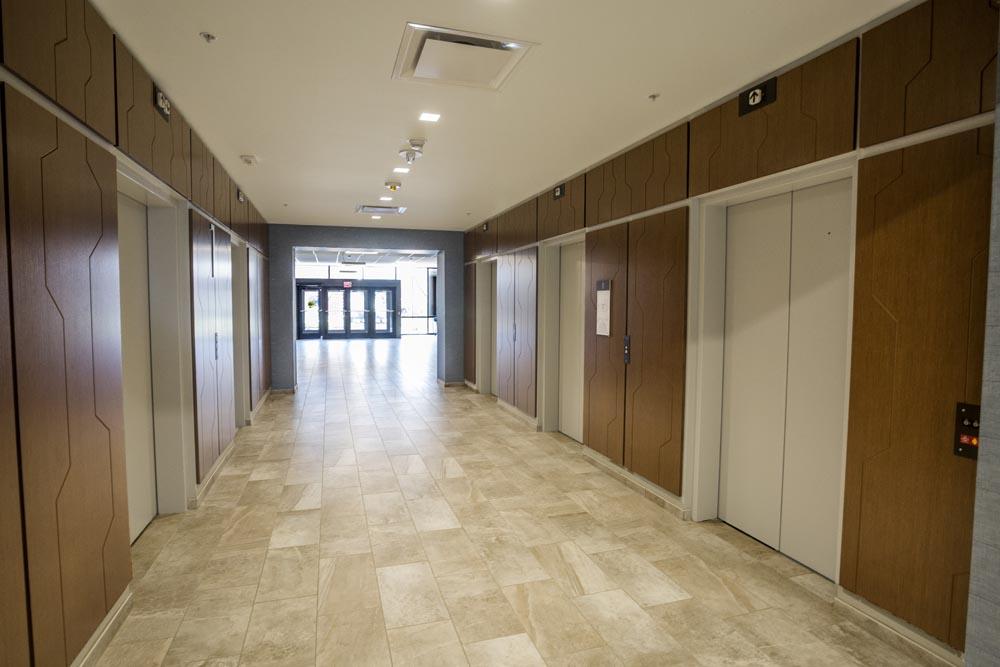 Elevator Lobby at 3 City Center