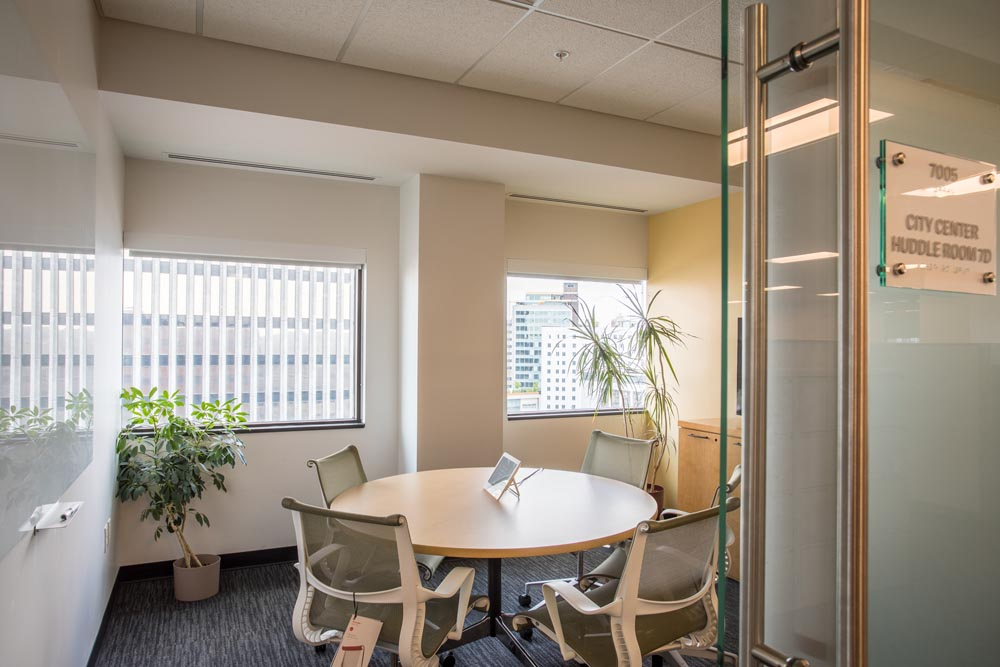 Office Suite Huddle Room at 3 City Center